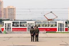 Soldiers taking pictures in Pyongyang (George Pachantouris) Tags: dprk north korea pyongyang kim ilsung jongil jongun communism socialism
