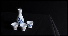 Sake (set) (tvdijk19) Tags: sake japan fuji xt2 set gekkeikan  fushimi kyoto jiemon okura natural light low still life stilllife