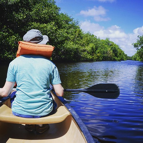 Kayaking on the canal in Flamingo, watch out for Gators! #evergladesnationalpark #florida #usa #flamingo #kayaking