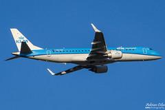 KLM --- Embraer ERJ-190 --- PH-EXD (Drinu C) Tags: adrianciliaphotography sony dsc hx100v ams eham plane aircraft aviation klm embraer erj190 phexd