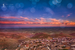 Mesopotamia Plains (Moments2Memories) Tags: bluesky bokeh field landscapephotography mardin mesopotamia mezopotamya plain sunset travelphotography turkey tã¼rkiye