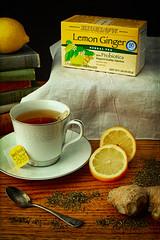 Tea #1 - Bigelow Lemon Ginger (stevepamp) Tags: stevepamp stilllife soft softlight lowkey tea lemon ginger dutchmasters dutchmastersstilllife bigelow bigelowtea canon canoneos5dmkiii canon50mmf14 bigelowlemonginger