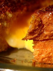 Grilled Cheese Macro (thatSandygirl) Tags: food macro bread cheese sandwich grilled fried toasted lunch orange brown crispy