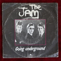 The Jam - Going Underground (A Vinyline) Tags: thejam paulweller vinylcollection recordcollection polydor goingunderground vinyl record records single 1980