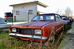 ford taunus XL (riccardo nassisi) Tags: auto abbandonata abandoned rust rusty relitto rottame ruggine ruins rottami scrap scrapyard epave piacenza pc fiat officina decay urbex