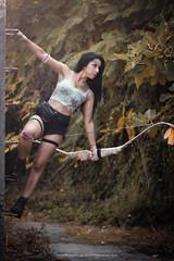 Slvia (RubenTeles) Tags: woman beautiful beauty sexy female model tomb raider lara croft cosplay portrait portugal