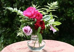 Ramo de rosas (leograttoni) Tags: naturaleza nature flor flower rosa rose jardn garden laplata buenosaires