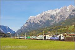 Pfarrwerfen (Pablo Martinez Perez) Tags: 151 db lokomotion wenzel logistics containerzug zug pfarrwerfen giselabahn tauernbahn