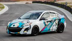 2010 Mazda 3 Itasha (Julio (Axela Media)) Tags: mazda corksport racing itasha texas usdm axela izumi reina myriadcolorsphantomworld