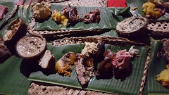 Delicious food that was cooked in the UMU
