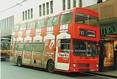 November 1990 (WMT2944) Tags: 2975 e975 vuk mcw metrobus mk2a west midlands travel