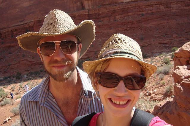 Desert selfies