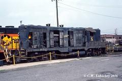 C&O 5715 on 9-3-79 (C.W. Lahickey) Tags: co emd gp7 cumberland maryland