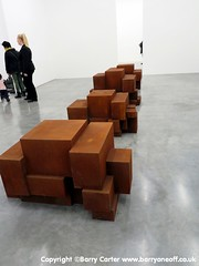 Anthony Gormley at White Cube 800 (11) (Barryoneoff) Tags: anthonygormley fit whitecube sculpture exhibition bermondsey