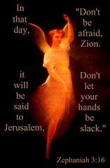 Don't be afraid (Jouni Niirola) Tags: israel day jerusalem zion yeshua