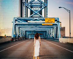 Taking Over (karmathartic) Tags: urban beauty landscapes florida surrealism models cityscapes bridges jacksonville redheads