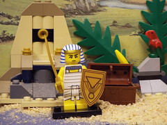 Standing guard (Paranoid from suffolk) Tags: lego egyptian minifigs series13 2015 minifigures