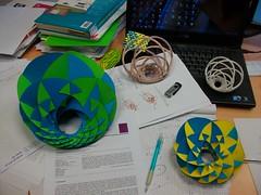 Cyclid Mania (fdecomite) Tags: math povray cyclide