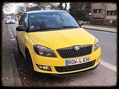 Skoda Fabia (v8dub) Tags: auto car germany deutschland automobile automotive voiture allemagne bremerhaven skoda fabia niedersachsen wagen pkw worldcars