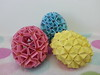 Eggs (hyunrang) Tags: origami egg hur knotology dragonegg paperstrip