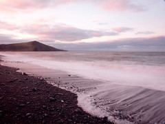 16 December 2014 - Smooth (penny_chicken) Tags: beach sunrise waves tide smooth pebbles aberystwyth ceredigion tanybwlch