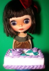 Blythe-a-Day December#6: 'Tis the Sweet Season: Scout: Author and Baker