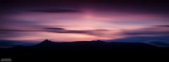 Bennachie Silhouette (Iain Brooks) Tags: longexposure sunset sky mountain silhouette night clouds sunrise stars landscape evening scotland highlands nikon long exposure aberdeenshire 10 sigma hills telephoto stop aberdeen filter nd 1750 tamron range 70200 1100 gloaming garish lightroom inverurie bennachie cokin grampian kintore d610 daviot 10stop nd1000 rothienorman d7000 nd1100