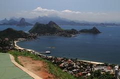 Vista do parque da cidade de Niterói - RJ - Brasil
