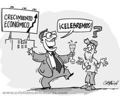 El crecimiento (Caricaturascristian) Tags: amrica mayor central banco 71 un dominicana latina valdez economa albizu creci