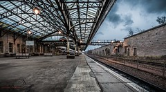 Perth Train Station (Augmented Reality Images (Getty Contributor)) Tags: station train scotland transport platform railway