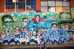 Nurses (Thomas Hawk) Tags: nyc newyorkcity usa newyork brooklyn america graffiti unitedstates manhattan unitedstatesofamerica fivepoints longislandcity 5pointz 5points fav10 5ptz fivepointz 5pointznyc 5pointzaerosolartcenter instituteofhigherburning