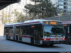 Toronto Transit Commission #9111 (vb5215's Transportation Gallery) Tags: toronto bus nova ttc transit commission artic lfs 2014