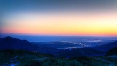 De la montagne a la mer (papy06200) Tags: montagne alpes crpuscule alpesmaritimes utelle provencealpesctedazur madoneutelle crepusculedescieux sunsetalpesmaritimes