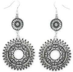 5th Avenue White Earrings P5611-5
