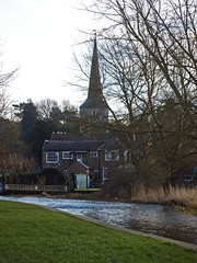 Eynsford, Kent, England (GABOLY) Tags: england river kent january eynsford 2015 darent