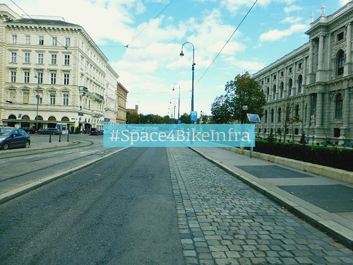 Space4BikeInfra @Bellariastraße Wien Radfahren Cycling Vienna Cityspaces Discover Your City Streets Of Vienna Streetphotography