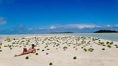 (Rama Yana) Tags: boy sky love nature water beauty relax landscape lost sand heaven paradise peace dream adventure harmony paradis archipelago atoll oceania traum rêve tropcial