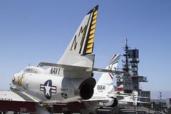 McDonnell Douglas A-4F Skyhawk 154977 (zymurgy661) Tags: california museum canon san aircraft aviation navy diego midway naval usaf usn uss carrier 6d mcdonnelldouglas cv41 a4f 154977