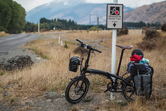 Tern Verge S27h on the Molesworth Muster Trail, New Zealand (Robert Thomson) Tags: newzealand bicycle offroad tern touring folding foldingbicycle verge touringbike molesworth gravelroads smallwheeledbicycle newzealandcycletrail 20inchbicycle molesworthmustertrail ternverges27h
