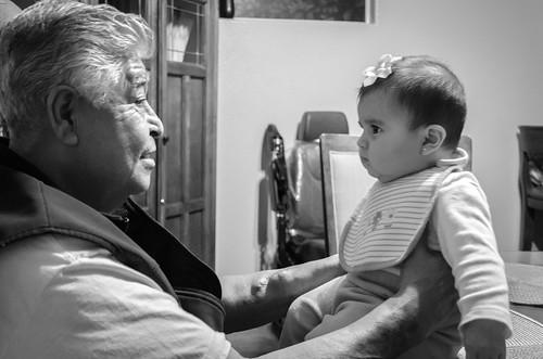 Platica con mi abuelo