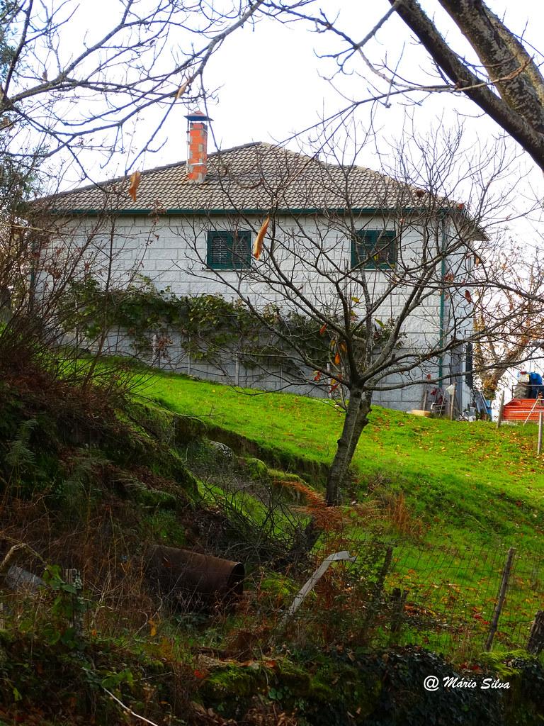 Águas Frias (Chaves) - ... mais uma casa da Aldeia ...