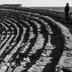 Divendres, 27 de febrer: Un home a dalt de tot de l'Amfiteatre de Tarraco, d'Albert Batlle (@enblanck) (Tarragona Turisme) Tags: sunset sky sun art heritage tourism sol mar arquitectura agua mediterranean mare roman august unesco experience catalunya february sole turismo febrero aigua tarragona mediterrneo tourisme anfiteatro febrer fvrier photooftheday febbraio picoftheday tarraco amphithtre mediterrani marenostrum racons costadaurada turisme amfiteatre tarragone photodujour fotodelda fotodeldia trraco humanitat essncia solil iphoneography catalunyaexperience mediterrniament instagram igerstgn catexperience
