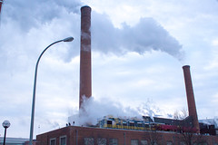 Steam Rising (marylea) Tags: winter steam um heating universityofmichigan feb23 2015 heatingplant