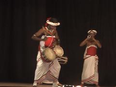 Drumming in Kandy Sri Lanka