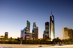Evening View of Sharq City Skyline, Kuwait (EHA73) Tags: leica skyline evening view skyscrapers towers x kuwait 113 sharq typ alraya kbt mazaya alkhaleejia aldhow kipco