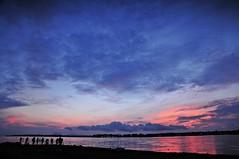 AJM_1064ew (ajimns) Tags: blue red sea sky cloud seascape beach silhouette sunrise asia malaysia sabah asean semporna