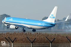 Boeing B737-800, KLM, PH-BCB (DrinkyB) Tags: rome roma boeing klm fiumicino fco b737 b737800 b738 lirf phbcb