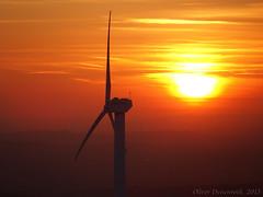 Knüllköpfchen_28_02_2015_24 (Oliver Deisenroth) Tags: schnee sunset snow sonnenuntergang windrad windwheel windturbine windgenerator schwalm schwalmederkreis