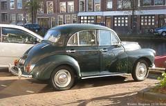 Morris Minor 1000 1958 (XBXG) Tags: auto old uk holland classic netherlands car vintage leiden automobile nederland voiture 1958 british morrisminor morris minor paysbas 1000 ancienne engels brits anglaise de6928