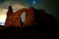 Turret Arch (Chamblin1) Tags: arches canyonlands nightscapes turretarch moabutah starrysky